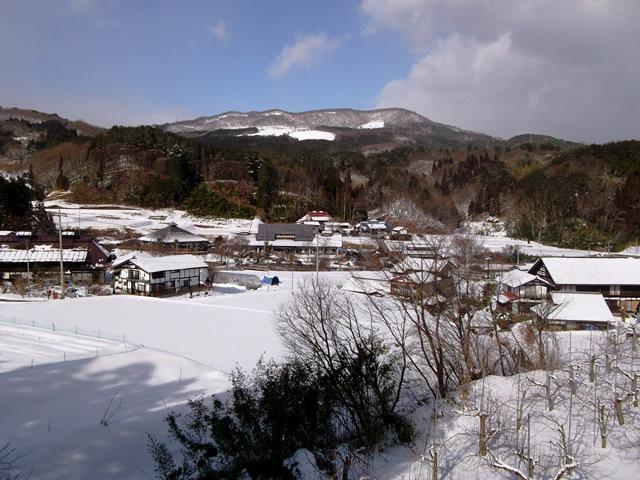 遊神館の雪景色